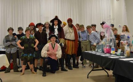Cast of Greenville High School's Spring Musical, 'Peter Pan'