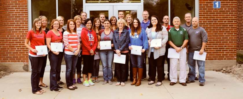 Teacher Grants 2015 photo courtesy The Greenville Advocate